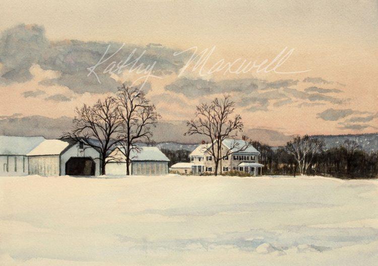 MacFarlane Farm by Kathy Maxwell