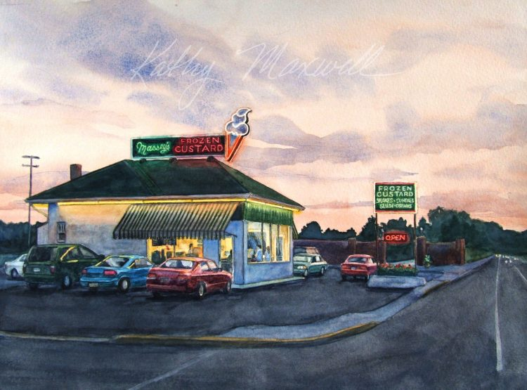 Masseys Frozen Custard (Carlisle, PA) by Kathy Maxwell