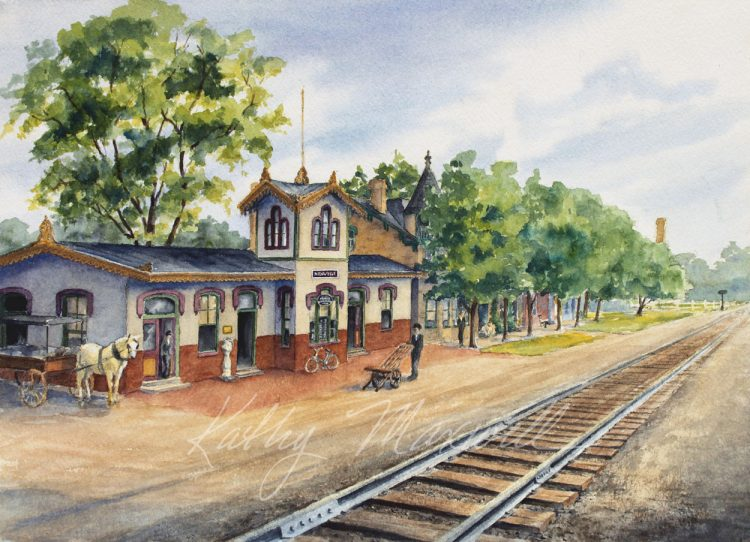 Newville Train Station (Newville, PA)