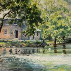 Stone House on Children's Lake (Boiling Springs, PA)