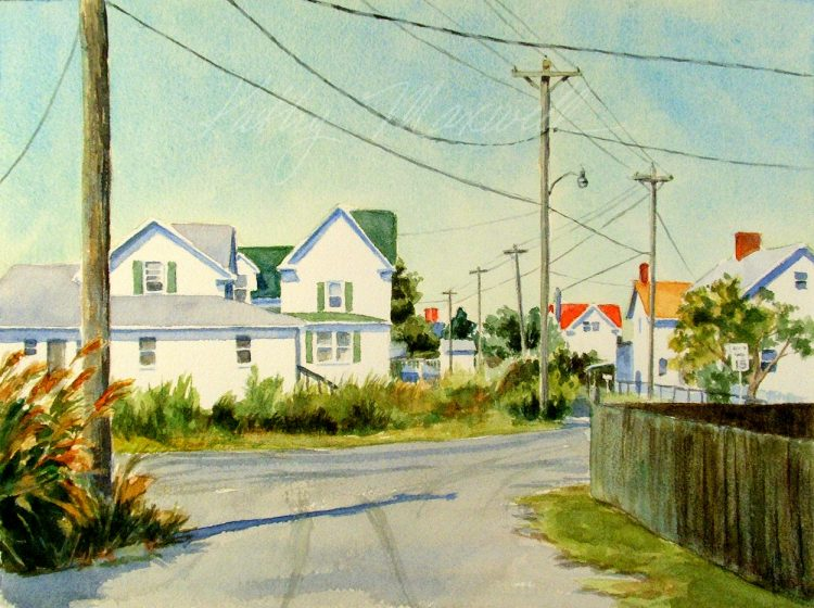 Tangier Island Streets (Tangier Island, VA)