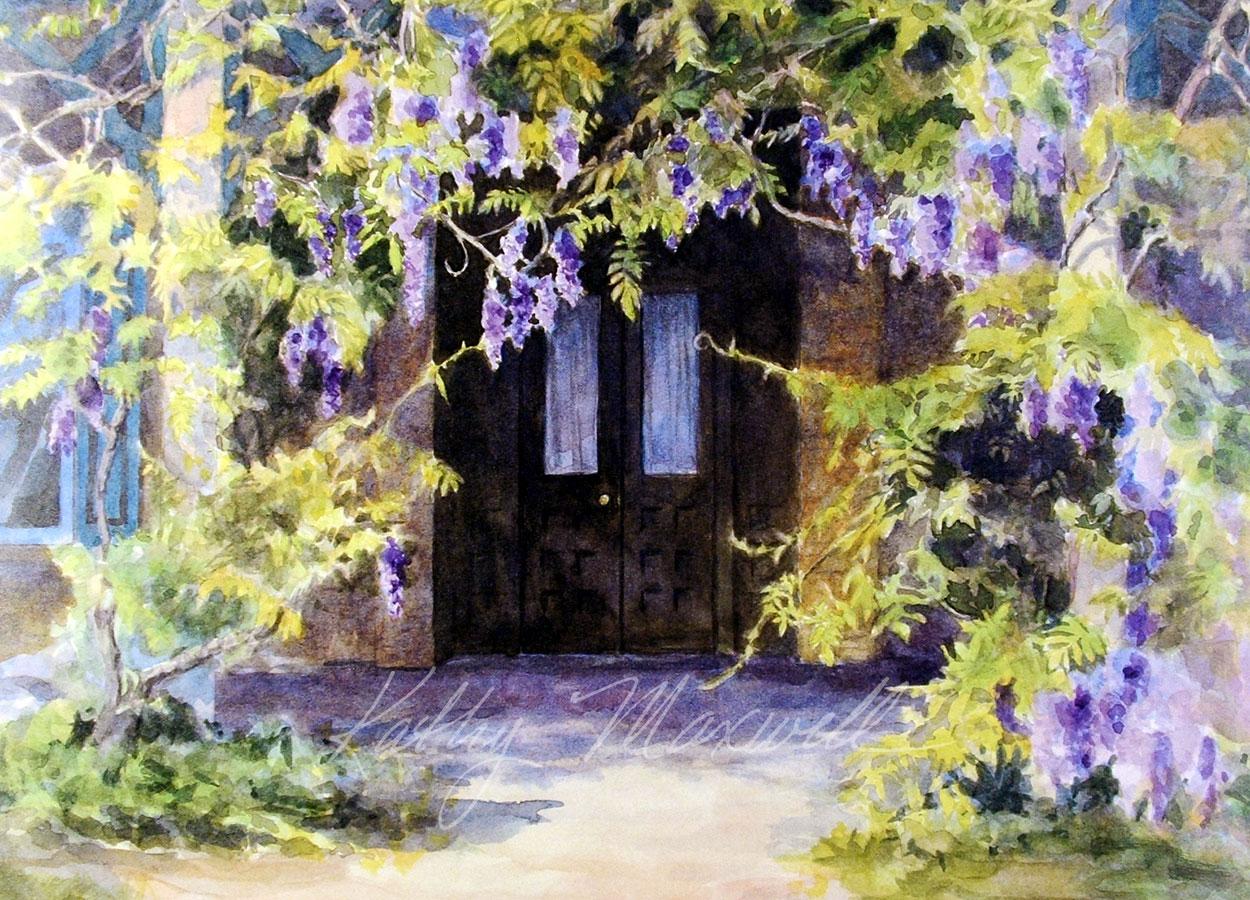 Wisteria Doorway