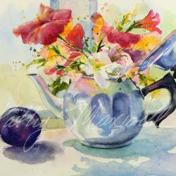 Teapot Blooms
