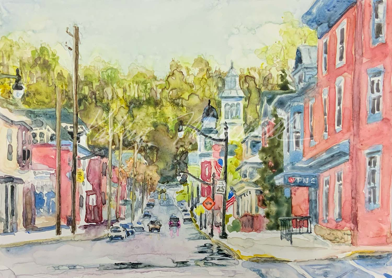 Newport, PA in Springtime