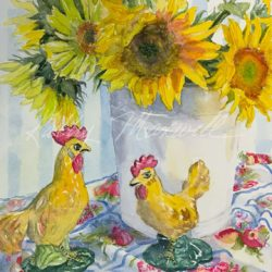 Yellow Celebration (Sunflowers from Meadowbrooke Gourds Farm)
